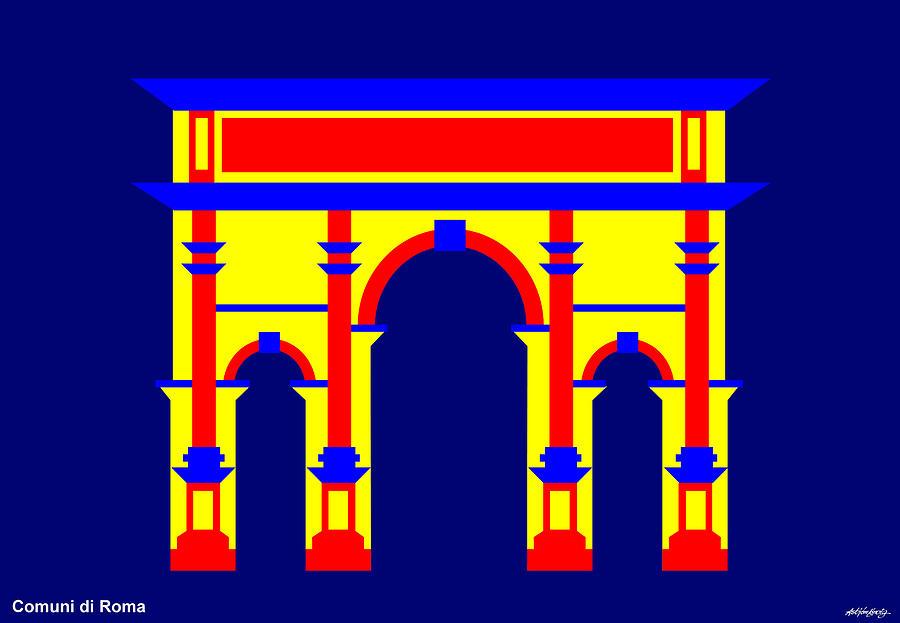 Septimus Severus Digital Art by Asbjorn Lonvig