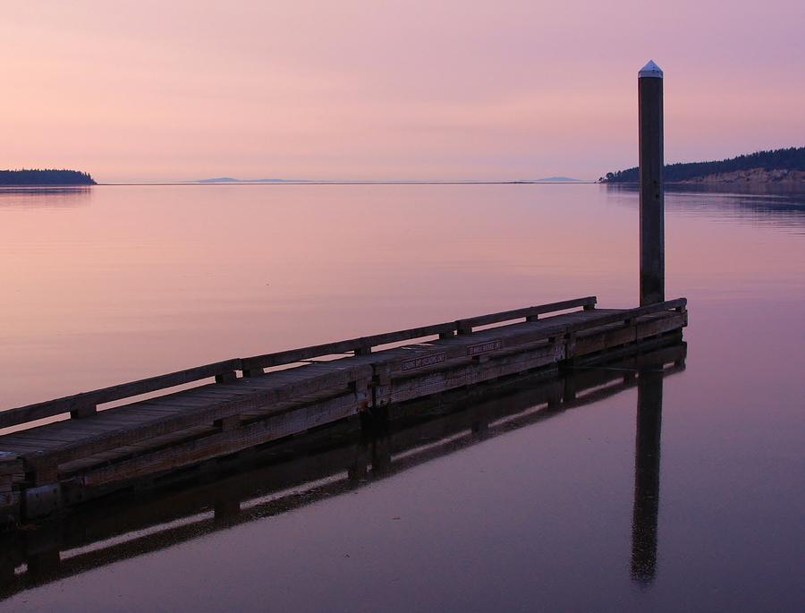 Sequim Bay Photograph