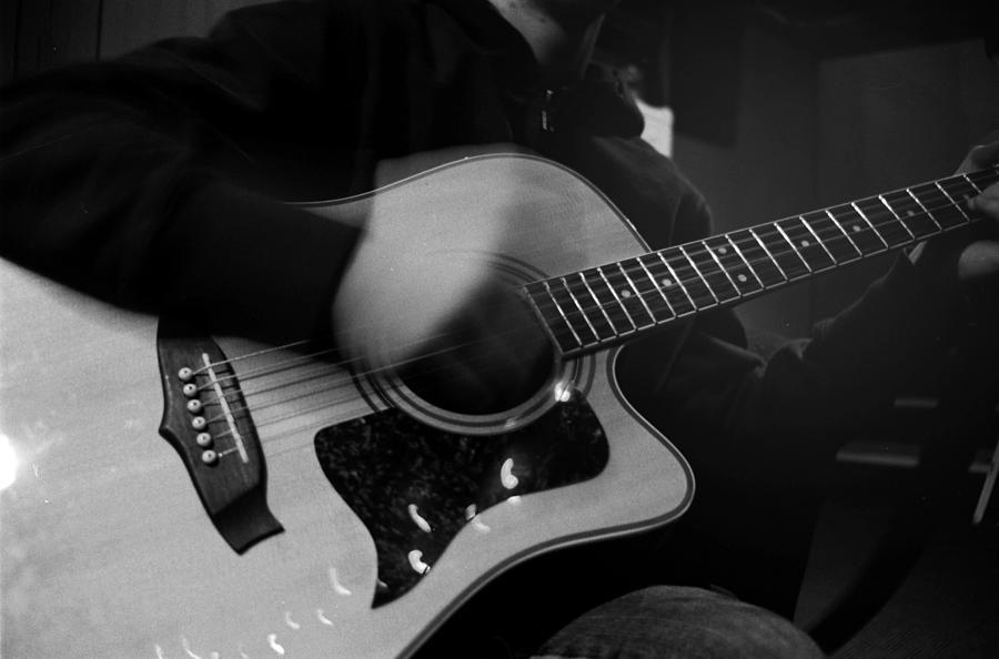 Guitar Photograph - Serenade by Emma Switzer