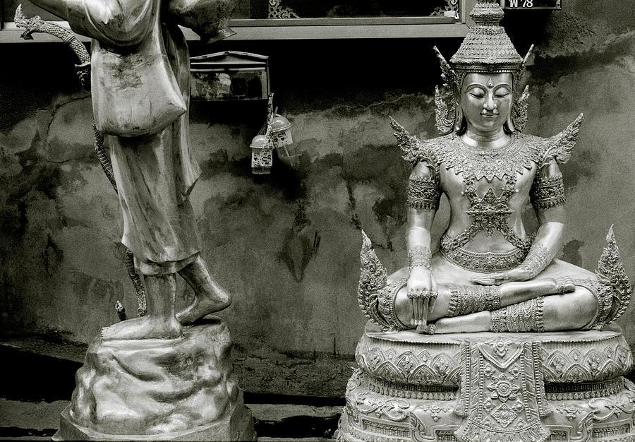 Serene Moments In Bangkok by Shaun Higson