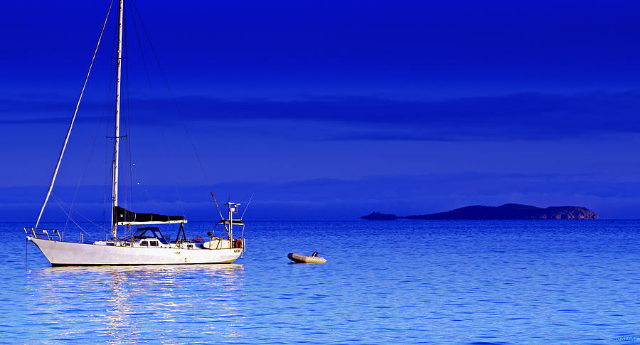 Yachts Photograph - Serene Seas by Holly Kempe