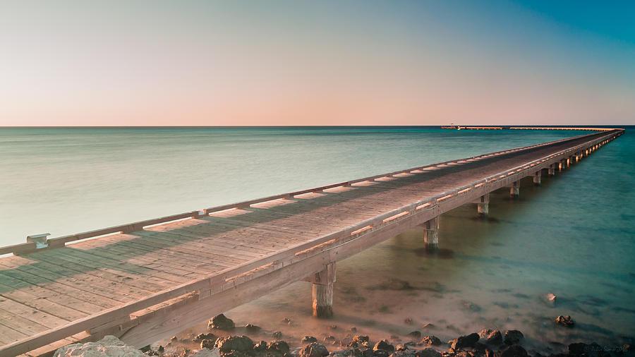 Serene Seascape At Sunrise Photograph