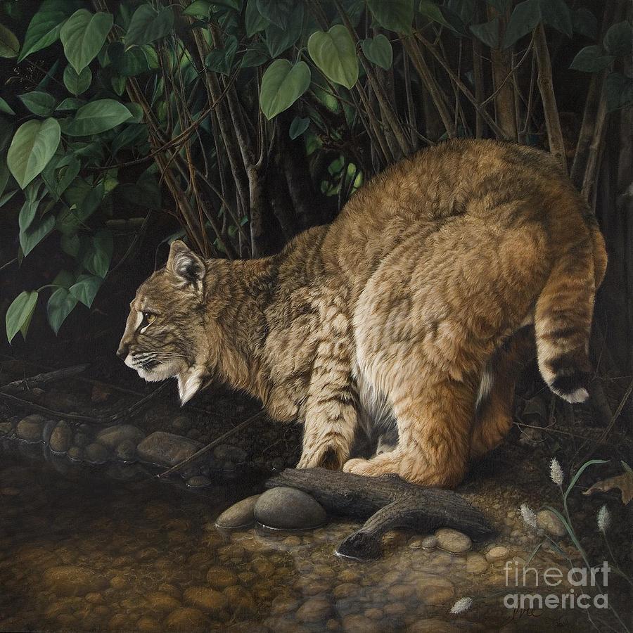 Oil On Canvas Painting - Serene Splendor by Barbara Ivie Green