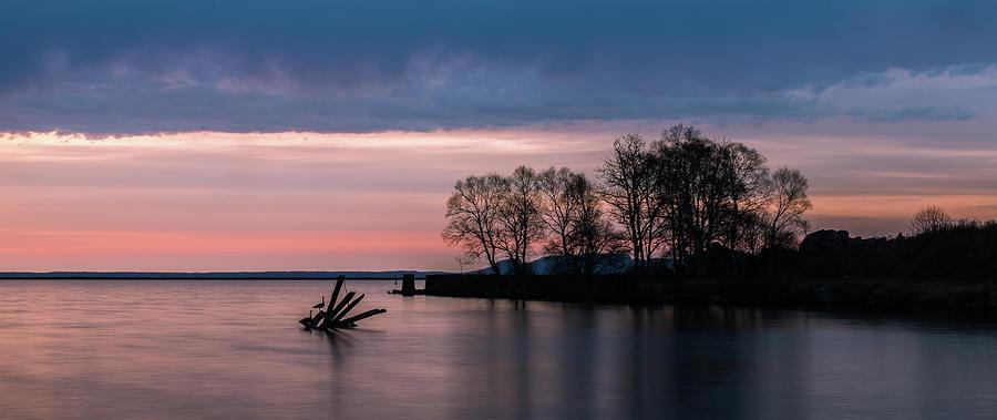 Sunrise Photograph - Serene Sunrise by Linda Ryma