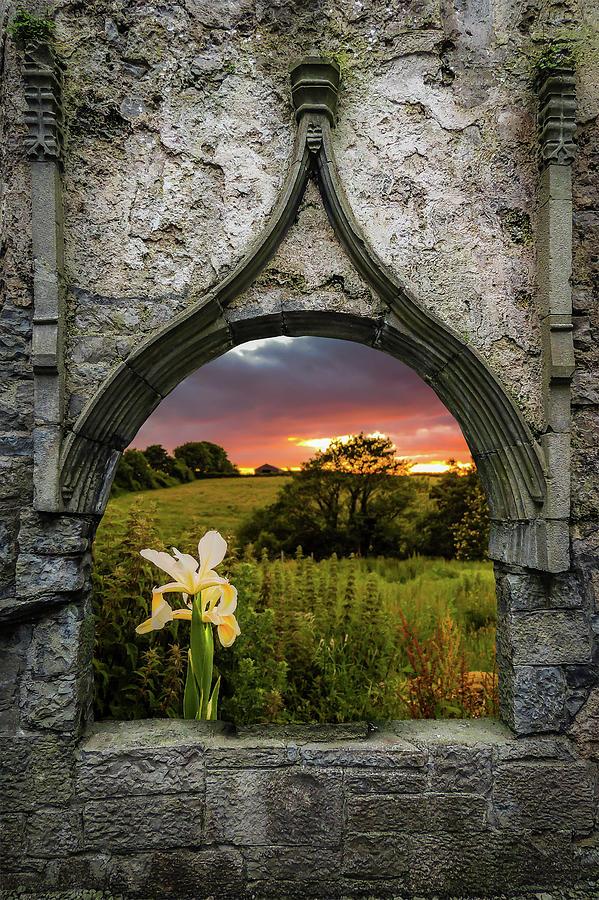 Serene Sunset over County Clare by James Truett