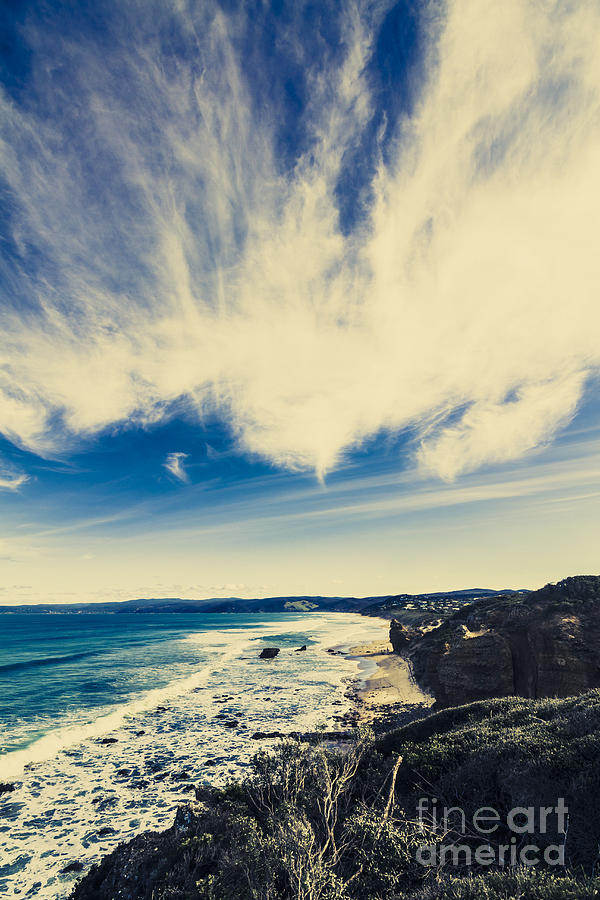 Victoria Photograph - Serene Victoria Coastline by Jorgo Photography - Wall Art Gallery