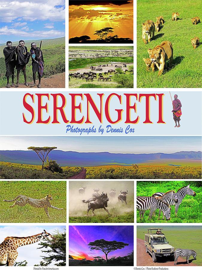 Serengeti Poster Photograph