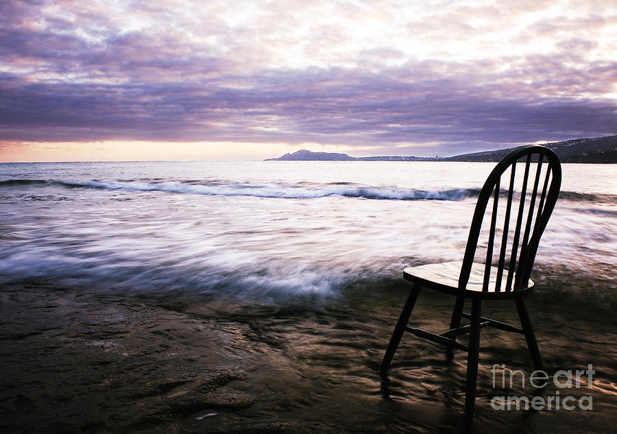 Landscape Photograph - Serenity At Portlock by Charmian Vistaunet