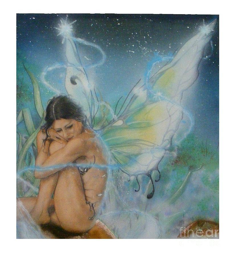 Acrylic Painting - Serenity by Crispin  Delgado