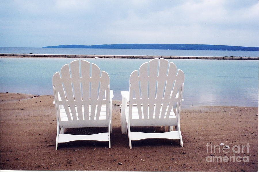 Beach Chair Photograph - Serenity by Crystal Nederman