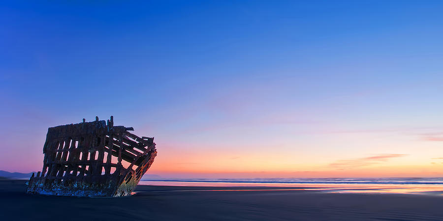 Peter Iredale Photograph - Serenity by Dan Mihai