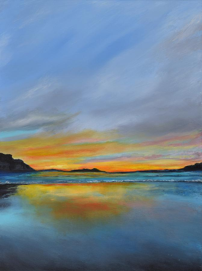 Peaceful Painting - Serenity by Denise Fisher