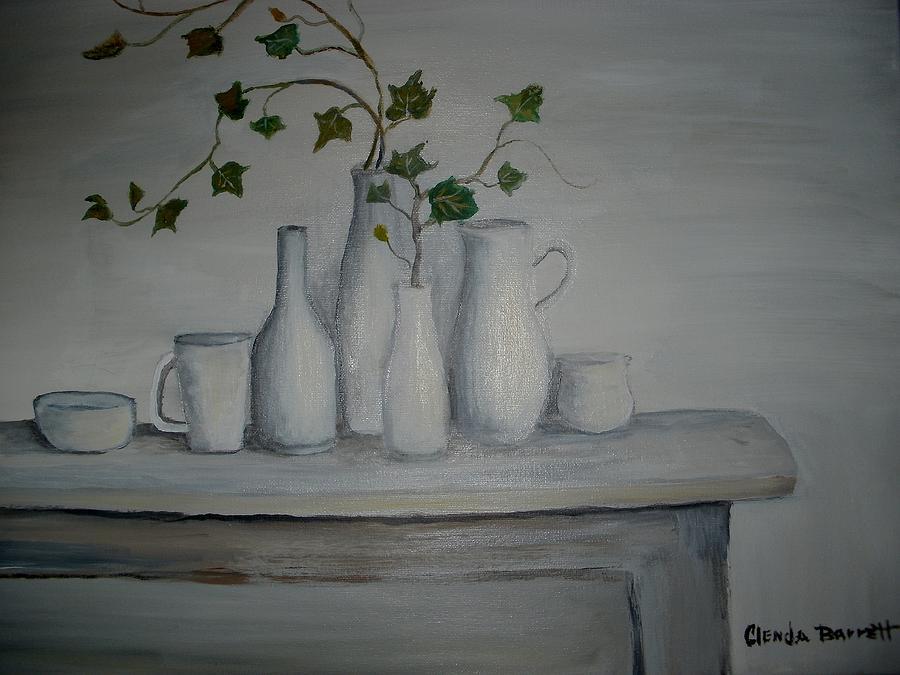 Original Acrylic Painting Painting - Serenity by Glenda Barrett