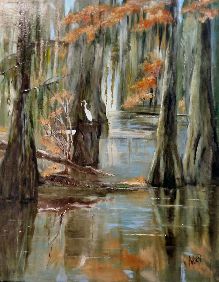 Serenity in the swamp by Arlen Avernian - Thorensen
