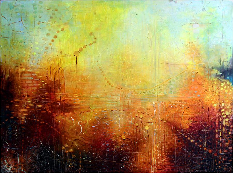 Landscape Painting - Serenity by Lolita Bronzini