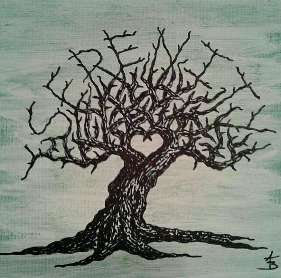 Serenity Love Tree by Aaron Bombalicki
