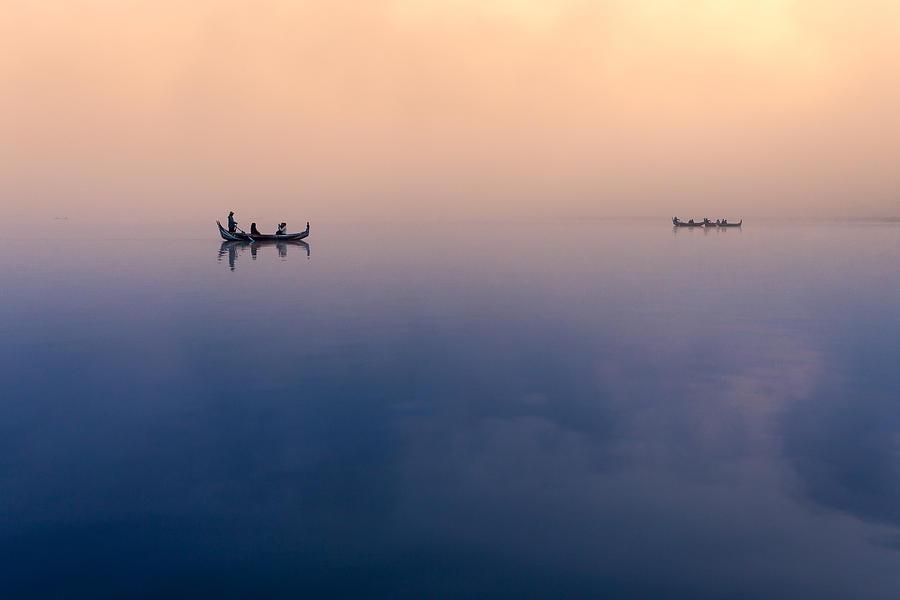 Amarapura Photograph - Serenity by Marji Lang