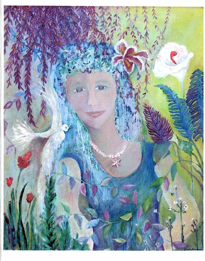 Fantasy Painting - Serenity by Marlene Robbins