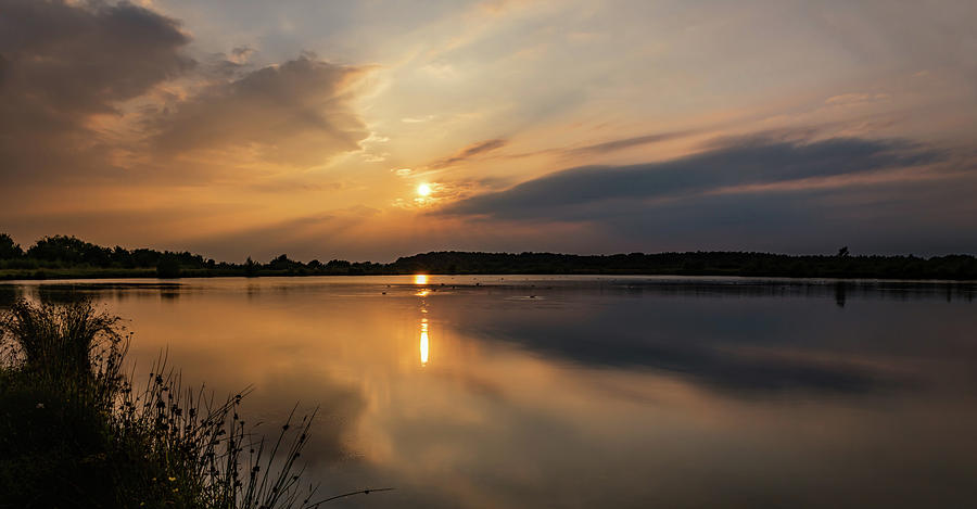 Serenity Photograph - Serenity by Nick Bywater