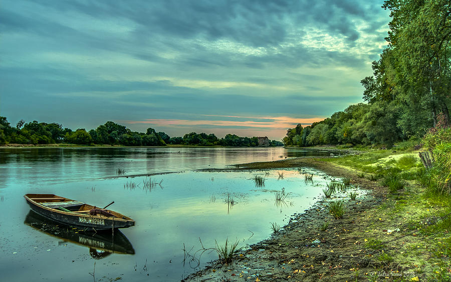 Serenity Over Narew River Photograph