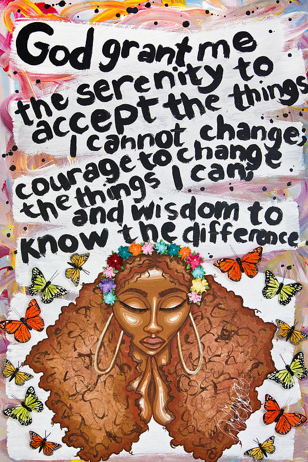 SERENITY PRAYER by Aliya Michelle