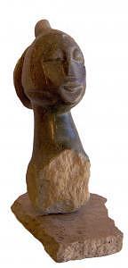 Stone Sculpture Sculpture - Serenity by Shaine Lewthwaite