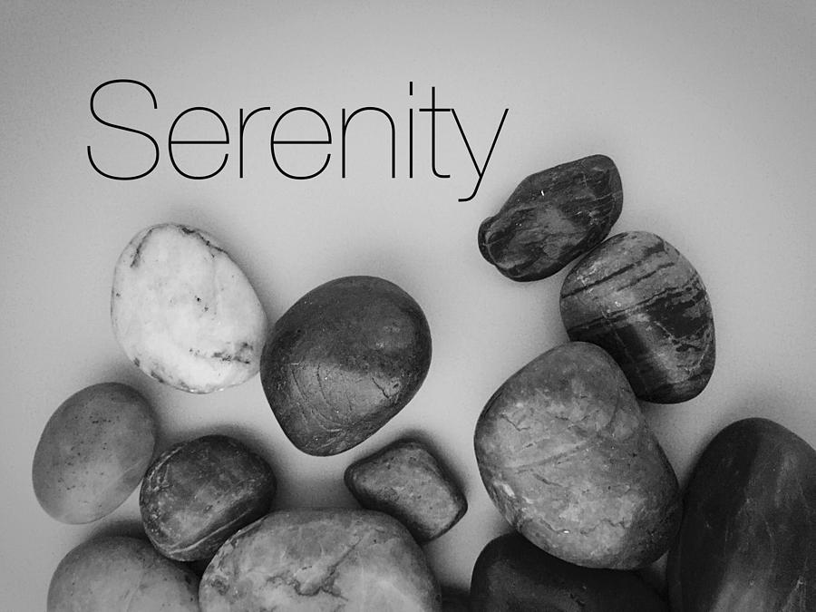 Serenity Stones Photograph