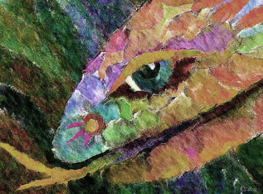Cornelius Digital Art - Serpens by Linda Cornelius