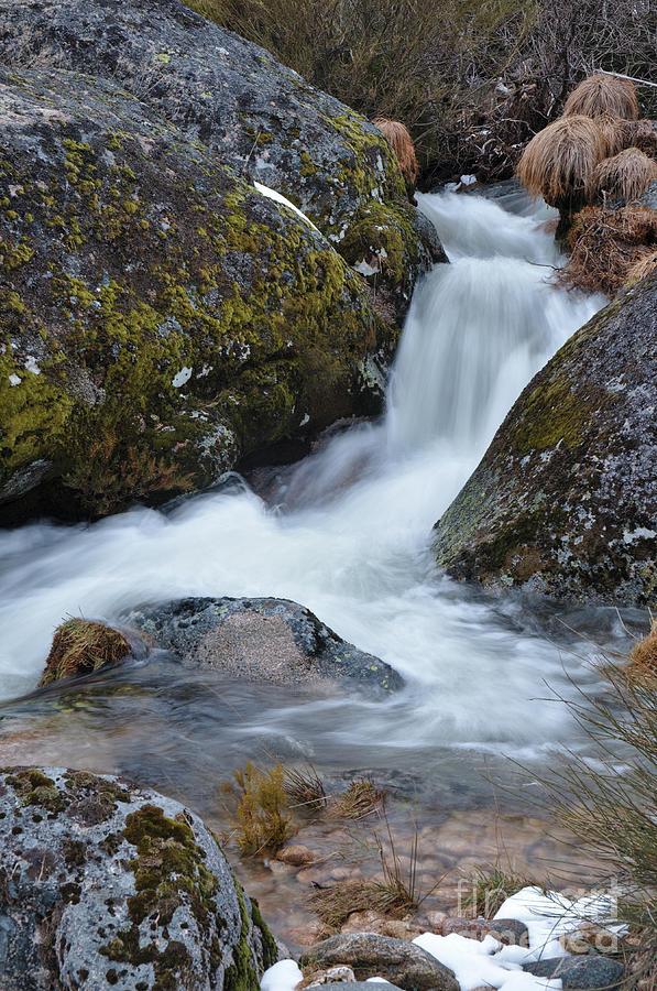 Serra Da Estrela Photograph - Serra Da Estrela Waterfalls. Portugal by Angelo DeVal