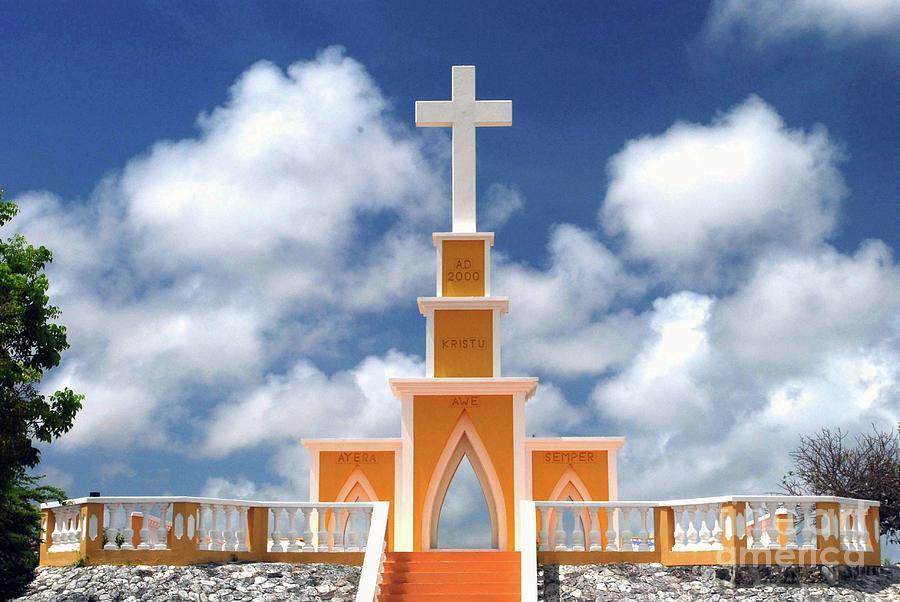 Bonaire Photograph - Seru Langu by Gary Wonning