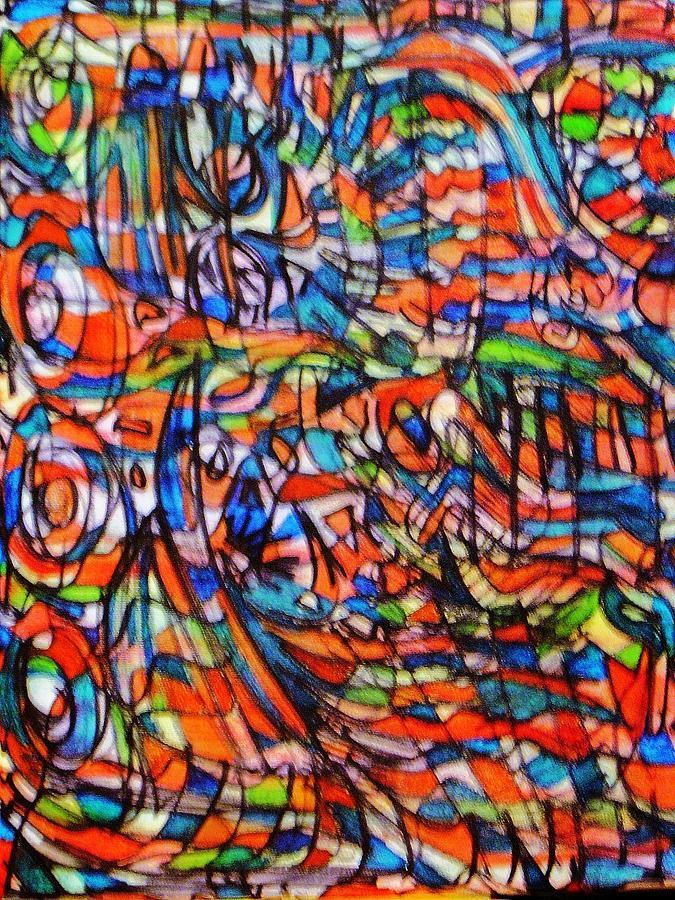 Sesame Street Painting - Sesame Street by Gayland Morris