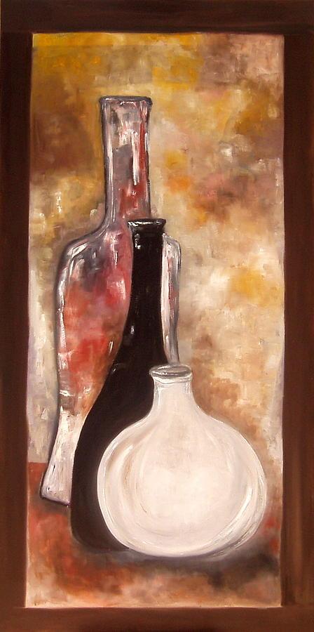 Pots Painting - Sesav by Andrea Vazquez-Davidson