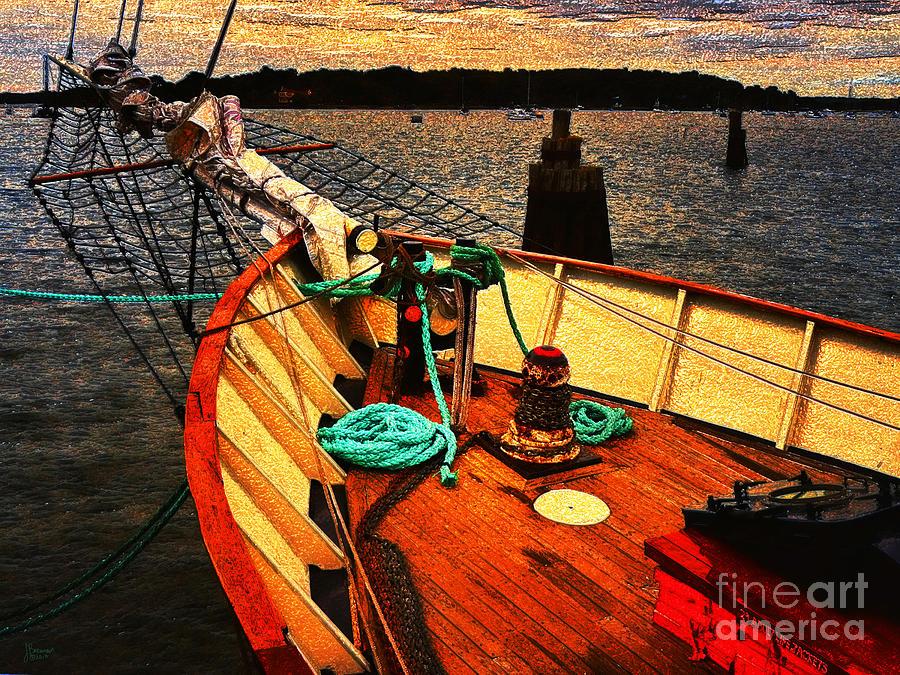 Sailboat Photograph - Set Sail by Jeff Breiman