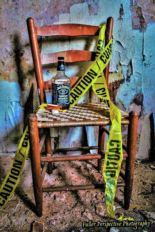 Still Life Photograph - Set With Caution by Chad Fuller