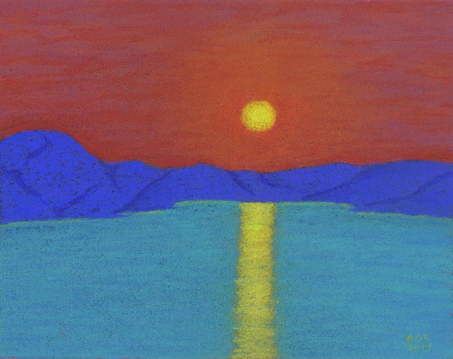 Setting Sun on the Olifants by Anne Katzeff