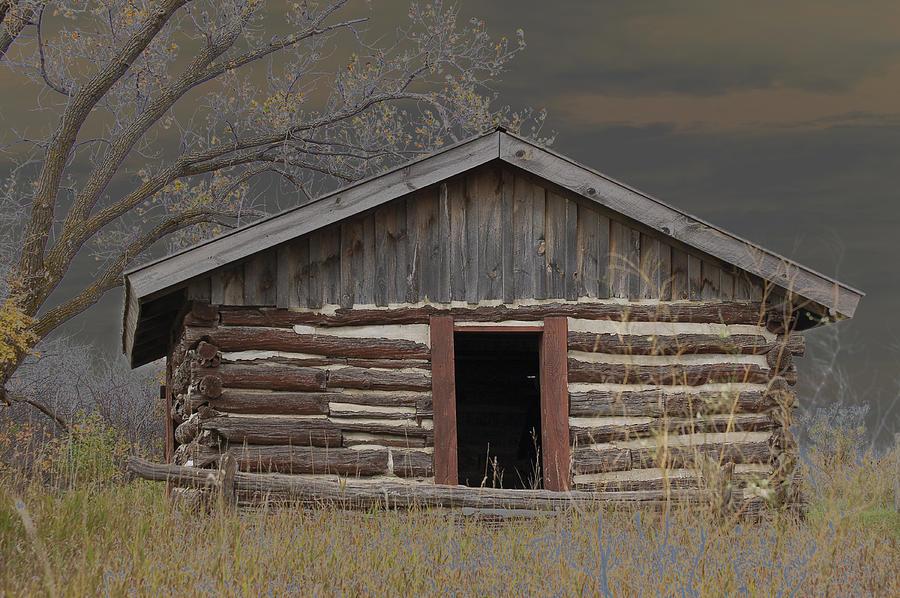 Settler Photograph - Settler Cabin by Ralph Steinhauer