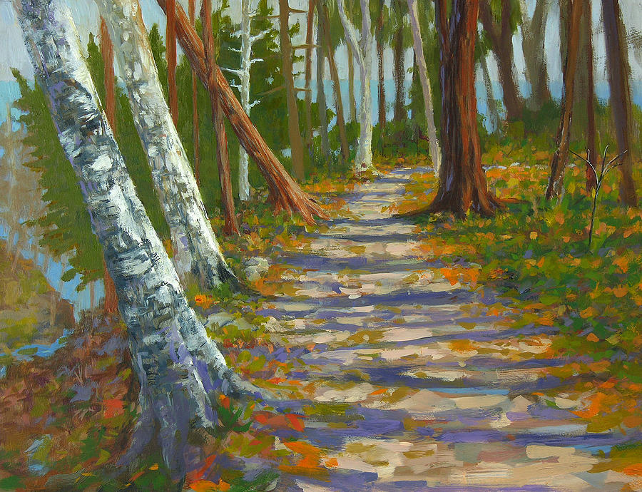 Plein Air Painting - Seven Bridges No. 2 by Anthony Sell