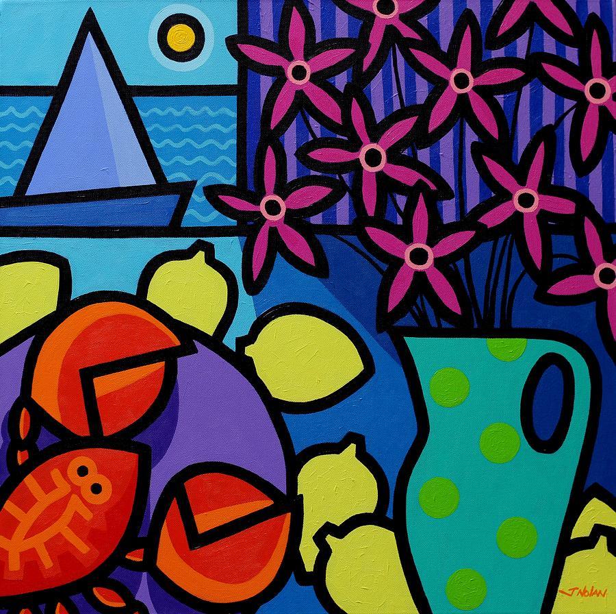 Restaurant Painting - Seven Lemons by John  Nolan
