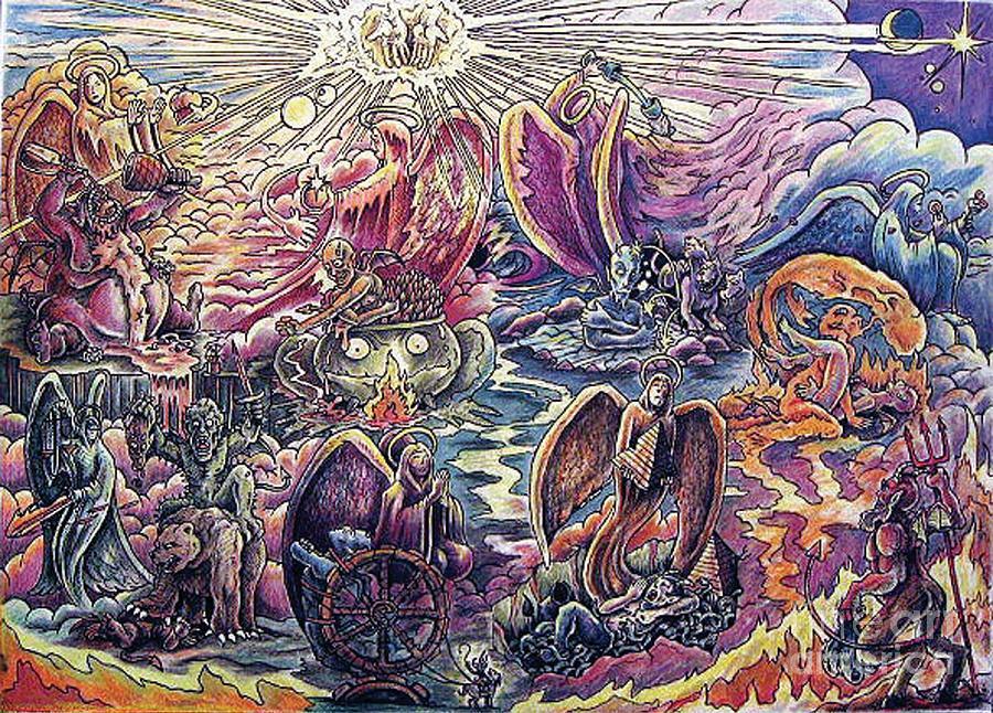 Seven sins art
