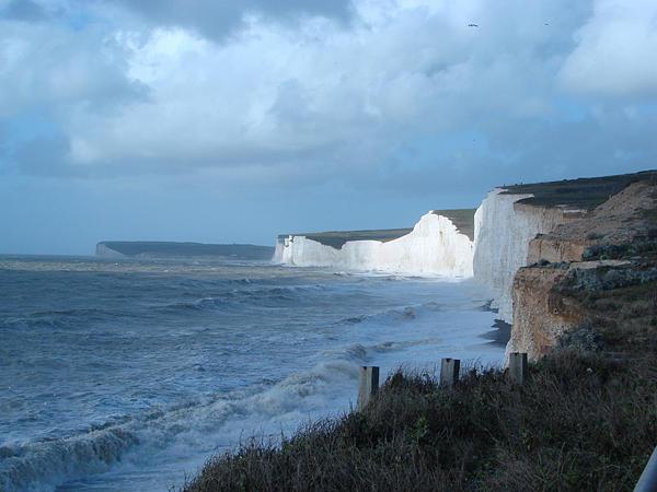Landscapes Photograph - Seven Sisters England by Karen R Scoville