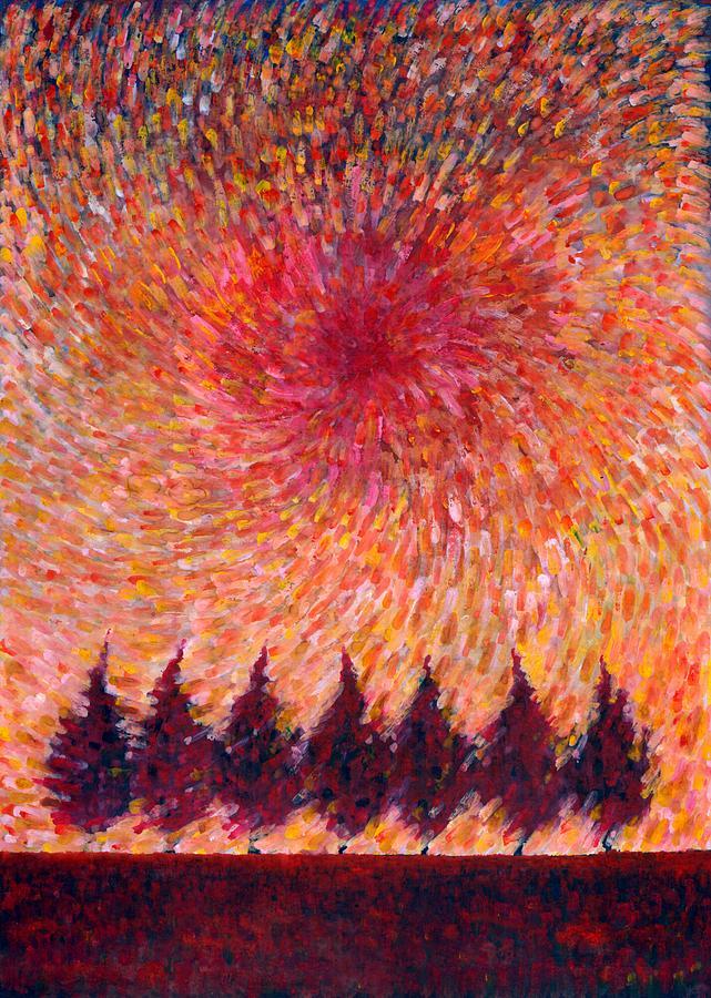 Colour Painting - Seven Wishes by Wojtek Kowalski