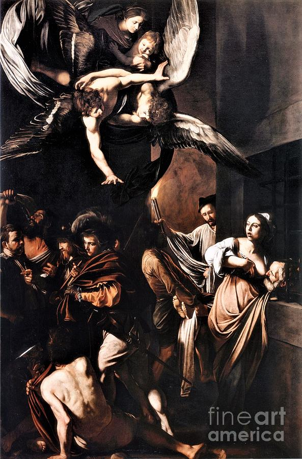 Seven Works Of Mercy Painting