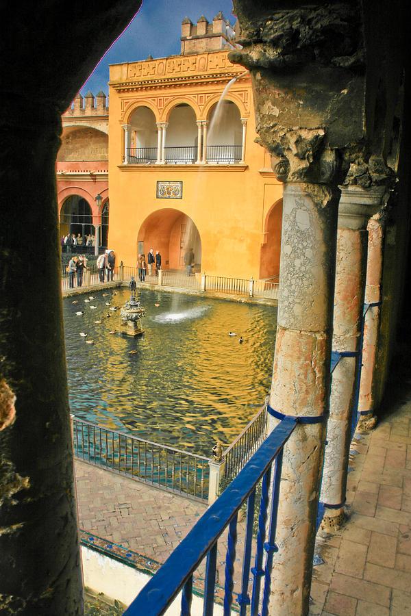 Doorway Photograph - Sevilla Alcazar Doorway by Jonathan Hansen