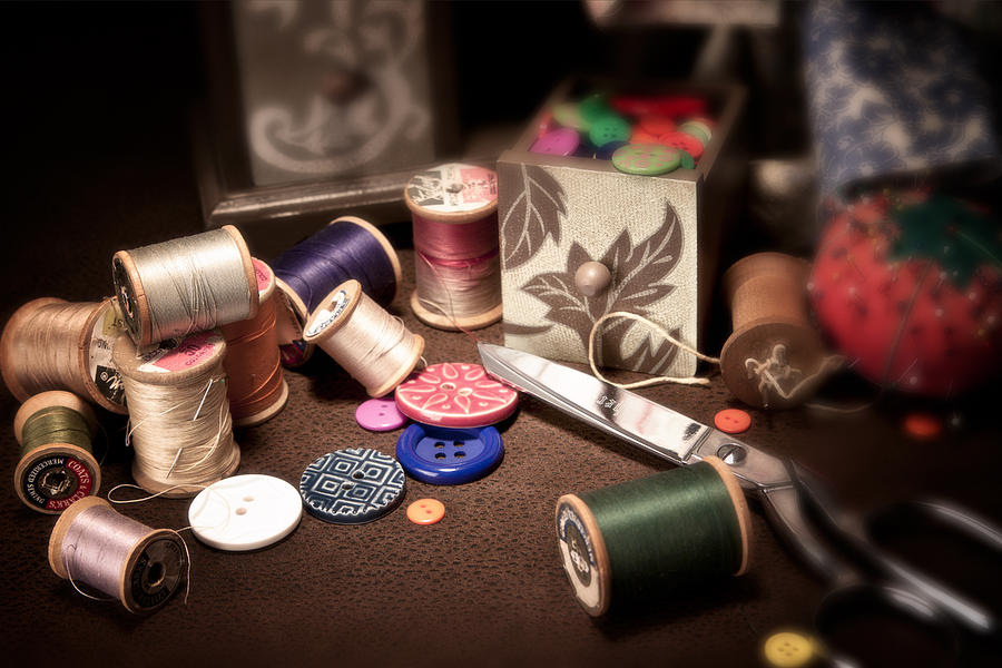 Sewing Photograph - Sewing Notions I by Tom Mc Nemar