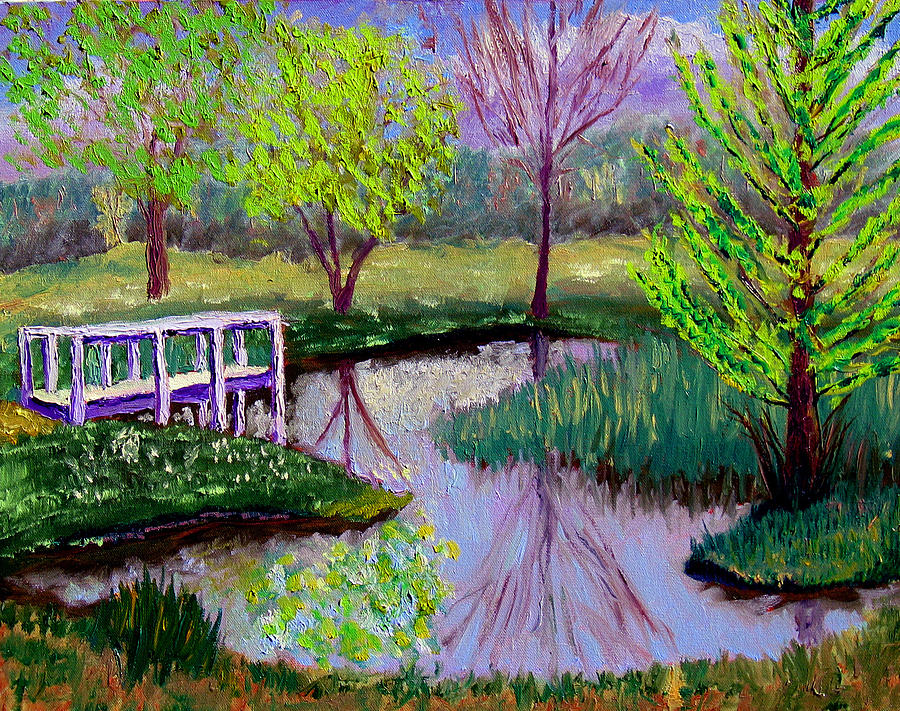 Landscape Painting - Sewp 5 2 by Stan Hamilton