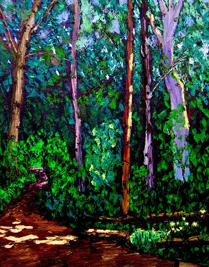 Plein Air Painting - Sewp 6 15 05 by Stan Hamilton