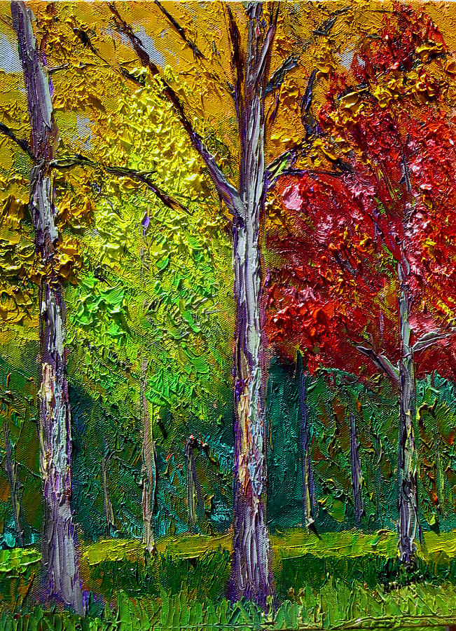 Fall Painting - Sewp Fall by Stan Hamilton