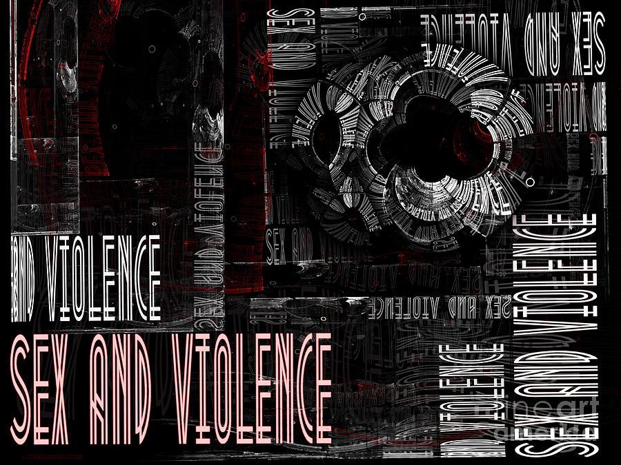 Sex And Violence Digital Art