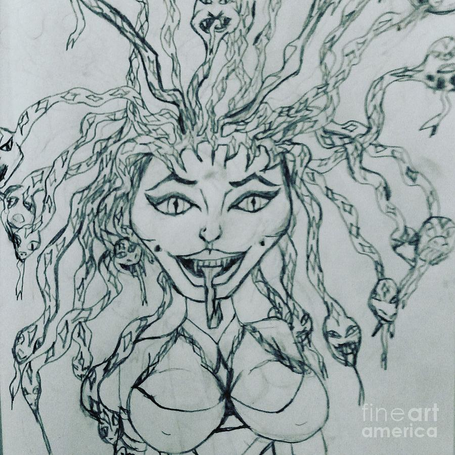 Sexy medusa