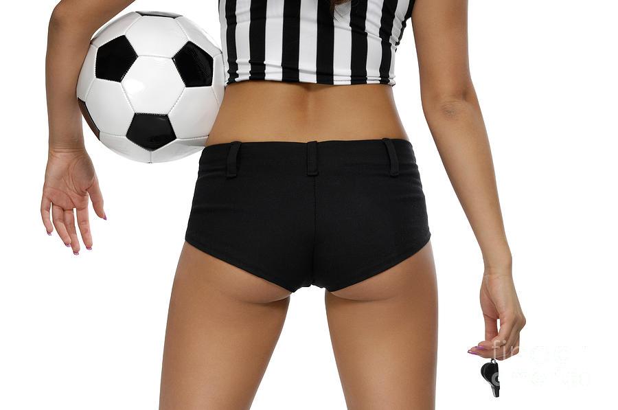 Soccer Photograph - Sexy Referee by Oleksiy Maksymenko